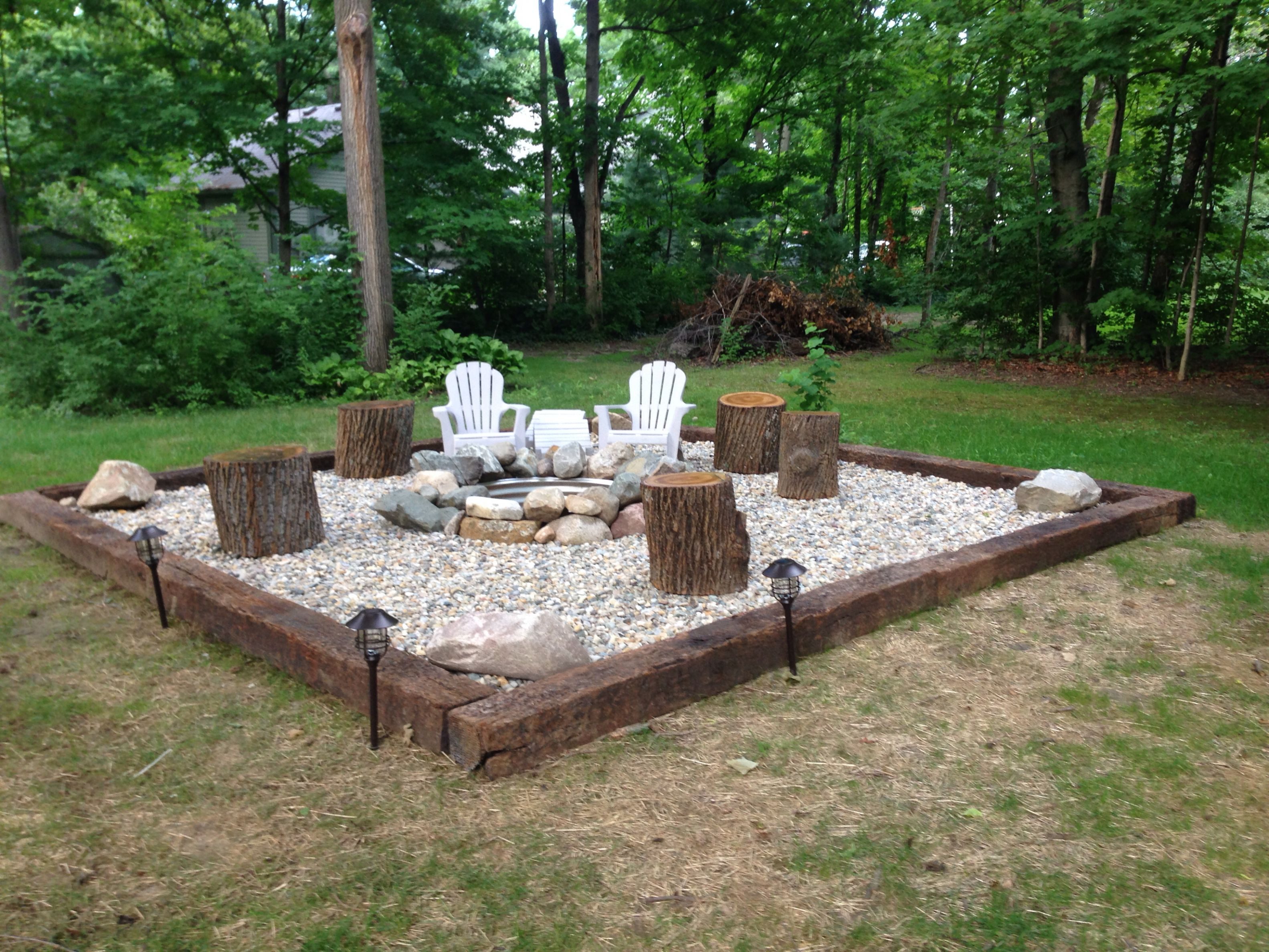 30 Best Backyard Fire Pit Area Inspirations For Your Cozy And Rustic with size 3166 X 2375