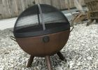 30 Dome Lift Off Fire Pit Screen Carbon Steel Custom Fire Pits regarding measurements 4032 X 3024
