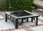 34 Tuscan Tile Mission Style Outdoor Fire Pit with measurements 1200 X 939