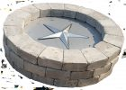 39 Inch Round Fire Pit Burner Kit Fireboulder Natural Stone intended for proportions 2388 X 1680