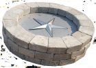 39 Inch Round Fire Pit Burner Kit Fireboulder Natural Stone throughout size 2388 X 1680