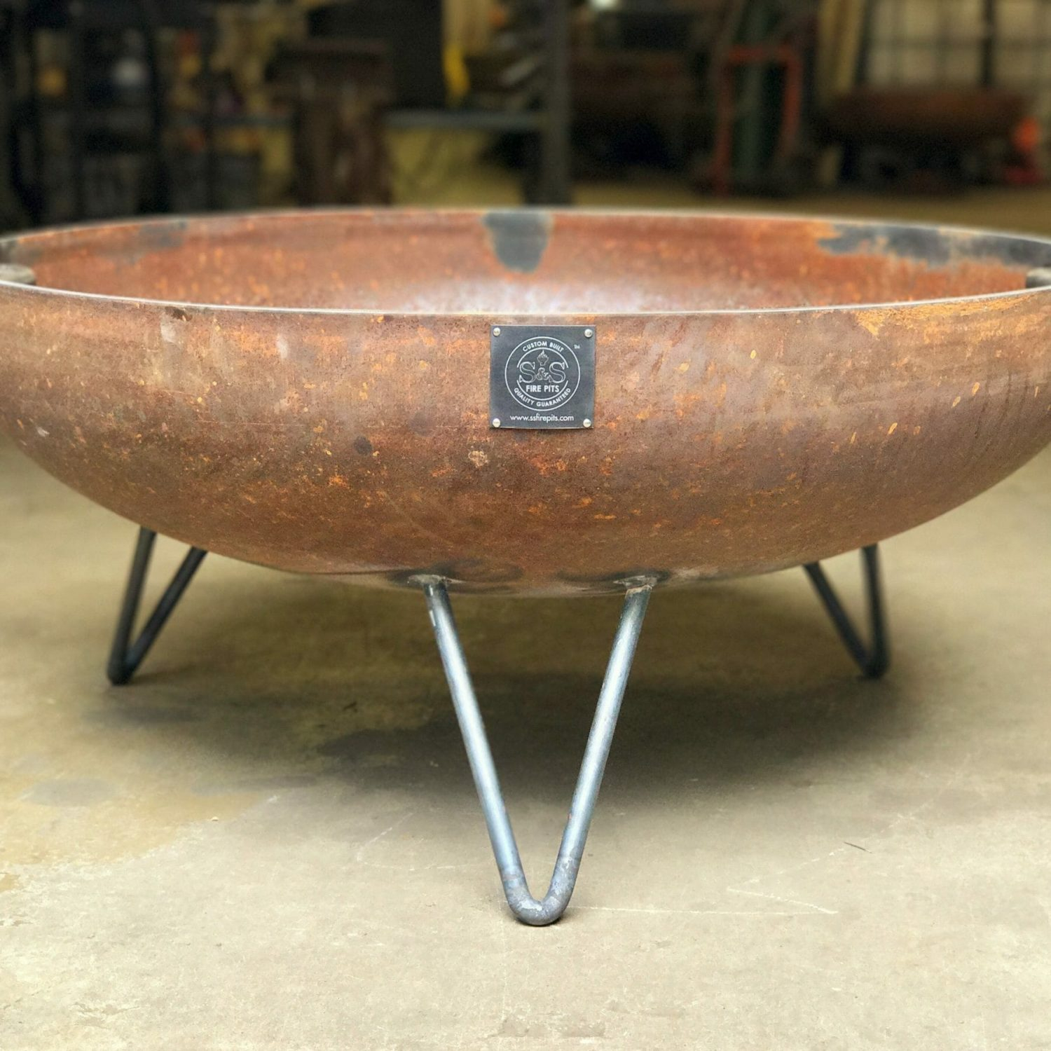 42 Elliptical Mid Century Modern Fire Pit Cool Midcentury Modern with regard to sizing 1800 X 1800