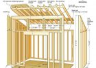 49630 Backyard Storage Shed 10x10 Gable Shed Plans 10x10 Deck Plans for proportions 1024 X 1821