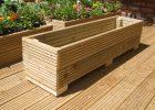 4ft Long Wooden Decking Plantertroughwindow Box 122cm X 30cm 30cm pertaining to sizing 1599 X 1200