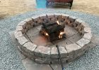 5 Ft Diameter Fire Pit 60 Flagstone Ashland Retaining Wall Blocks within dimensions 4032 X 3024