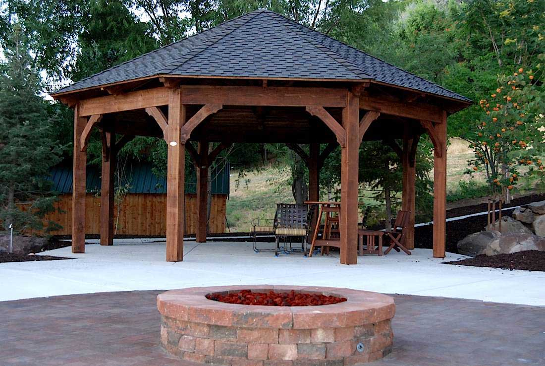 55 Best Backyard Retreats With Fire Pits Chimineas Fire Pots with regard to measurements 1100 X 738