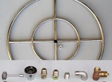 6 12 18 24 30 36 Stainless Steel Fire Pit Burner Ring Kit For pertaining to sizing 1000 X 968