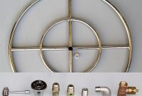 6 12 18 24 30 36 Stainless Steel Fire Pit Burner Ring Kit For regarding proportions 1000 X 968