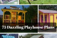 75 Dazzling Diy Playhouse Plans Free Mymydiy Inspiring Diy within size 800 X 1200