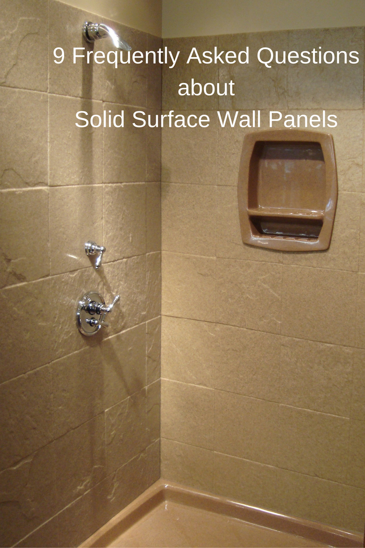 9 Frequently Asked Questions About Stone Solid Surface Shower Wall within proportions 735 X 1102