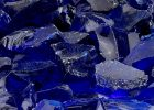 American Fire Glass Dark Blue Recycled Fire Pit Glass Medium 18 within sizing 1000 X 1000