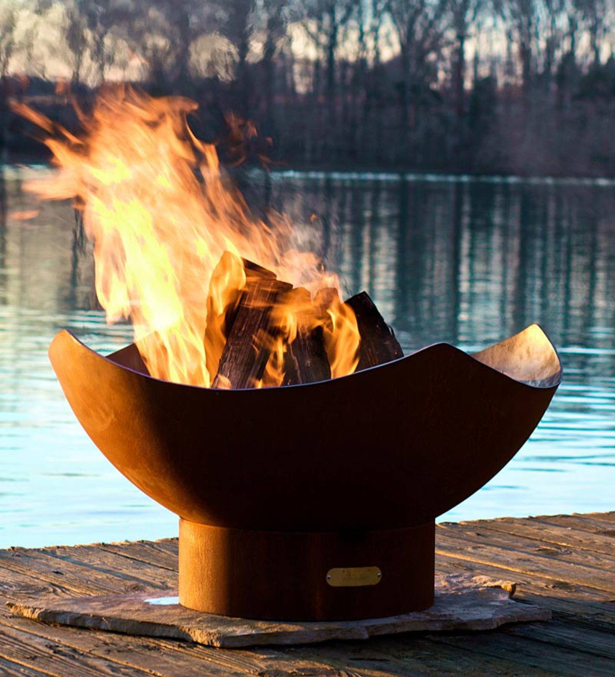 American Made Firepit Art Manta Ray Fire Pit Plowhearth inside proportions 1200 X 1320