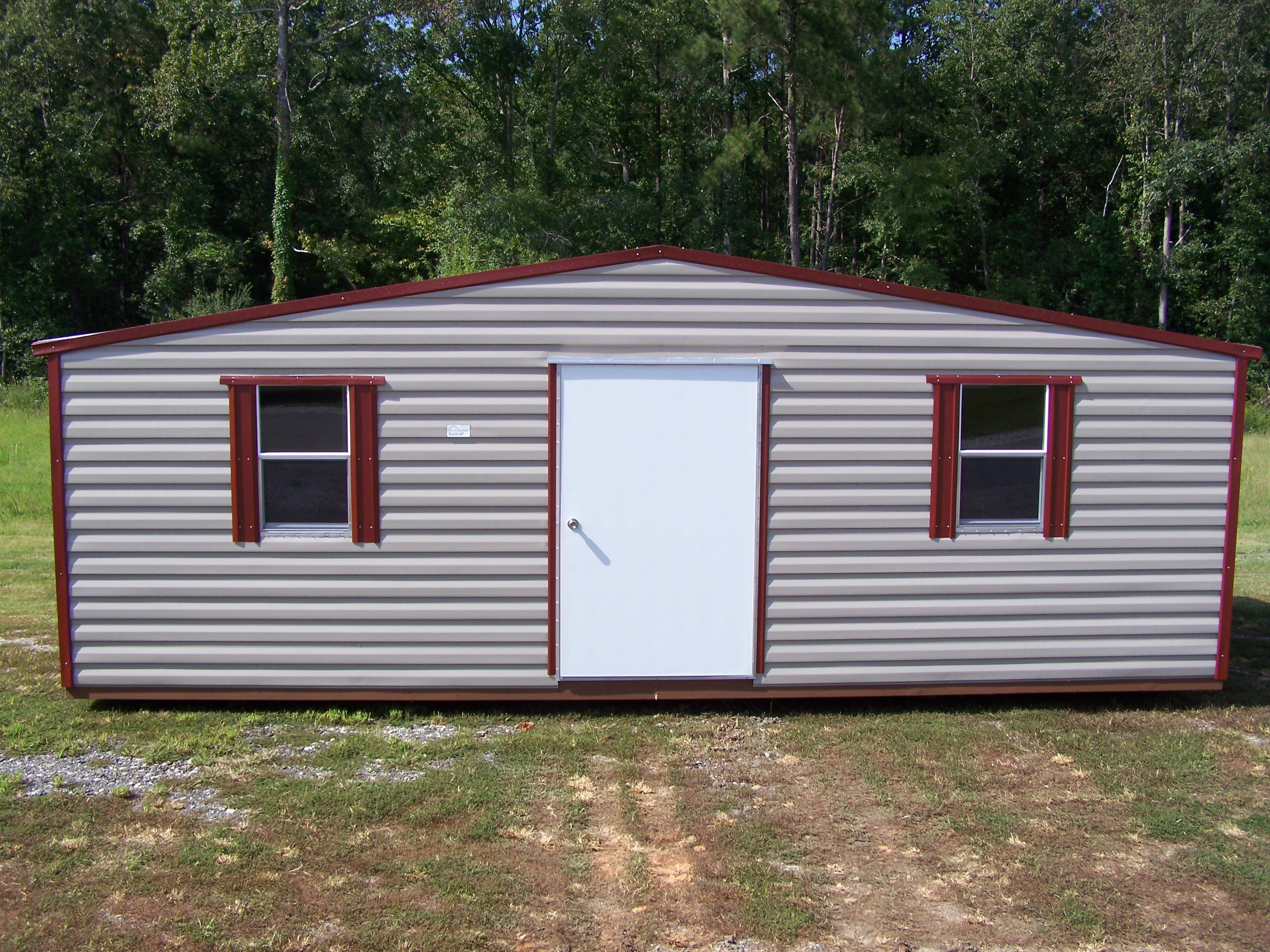 Amish Built 12x24 A Frame Garage Storage Shed Duratemp Pioneer pertaining to size 3072 X 2304