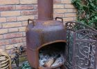 An Old Propane Tank Recycled Into A Fire Pit For Our Garden My within size 1071 X 1600