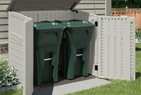 An Outdoor Storage Shed Is Ideal For Storing Garbage Cans Lawn And in size 1150 X 1150