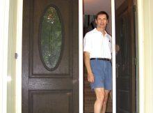 Andersen Patio Door Retractable Screen Crunchymustard with proportions 1450 X 1890