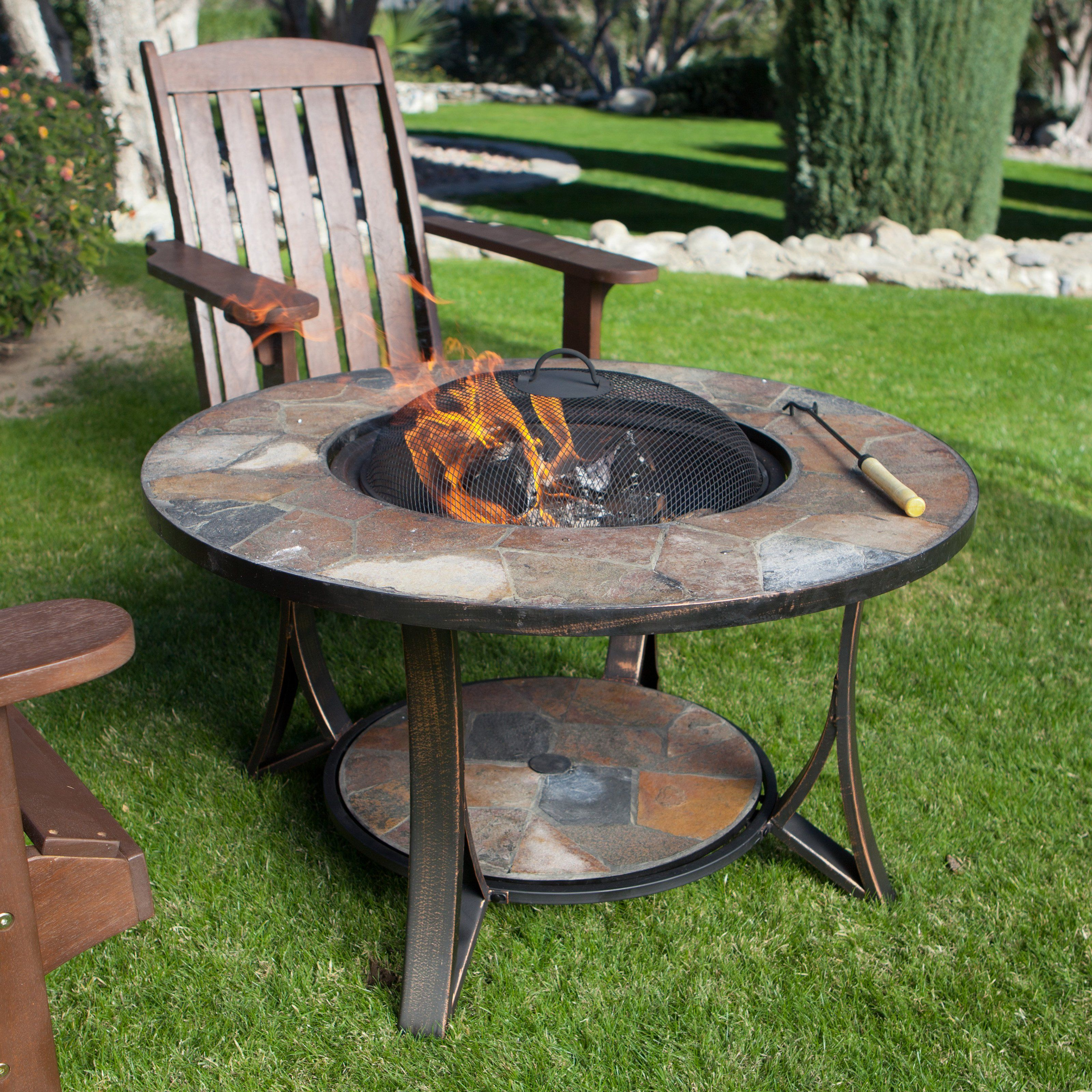 Arizona Sands Ii Fire Pit Table With Free Cover The Arizona Sands pertaining to measurements 3200 X 3200