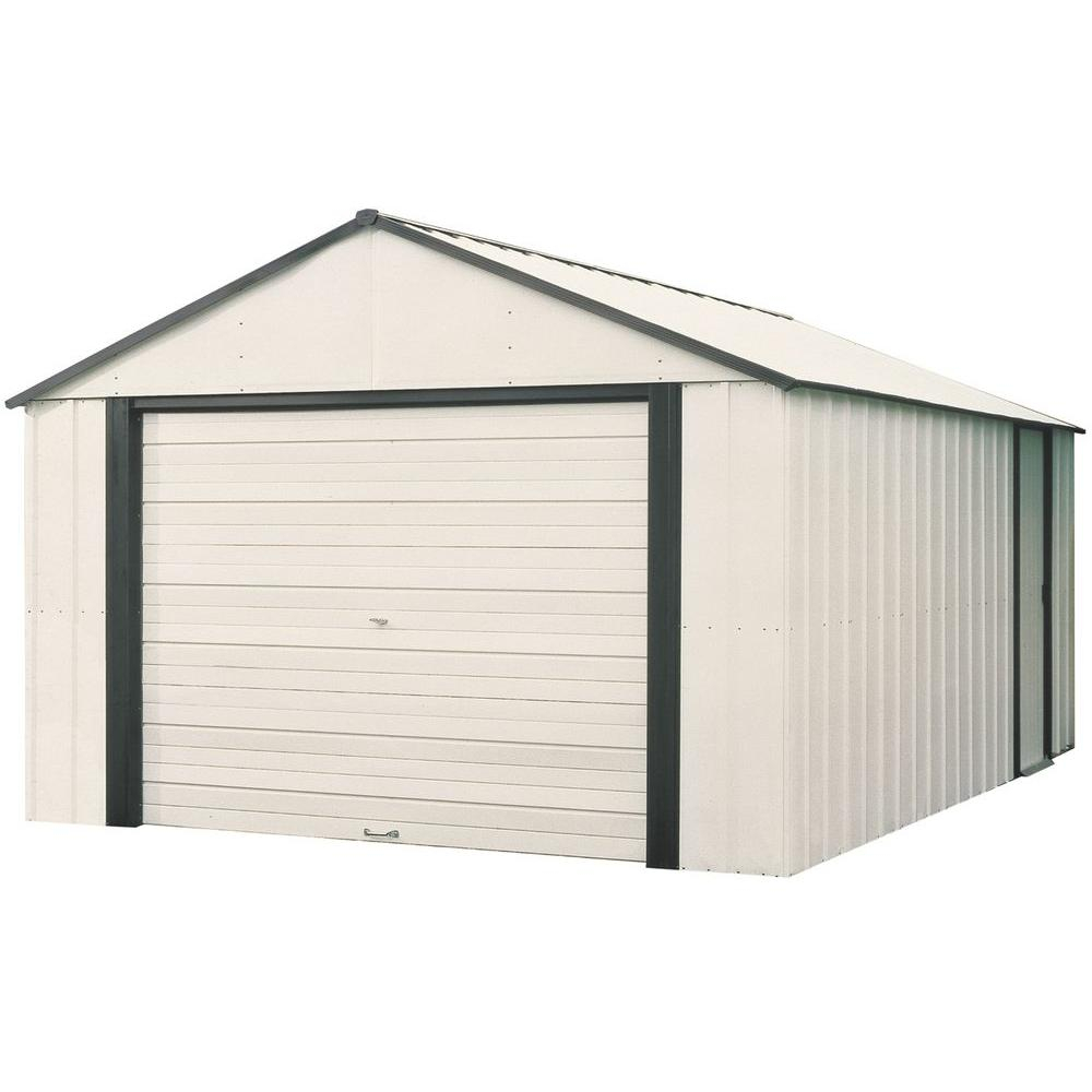 Arrow Murryhill 12 Ft X 24 Ft Vinyl Coated Steel Storage Shed throughout measurements 1000 X 1000