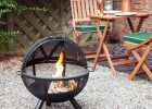 Aruba 24 Steel Mesh Fire Pit With Barbecue Grill Garden Fire in dimensions 1600 X 1600