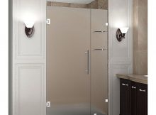 Aston Nautis Gs 38 In X 72 In Frameless Hinged Shower Door With throughout sizing 1000 X 1000