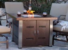 Az Patio Heaters Antique Bronze And Stainless Steel 38 In Fire within proportions 1600 X 1600