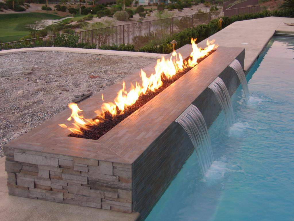 Backyard Fire Pits Gas Design Idea And Decors Natural Gas Fire with proportions 1024 X 768