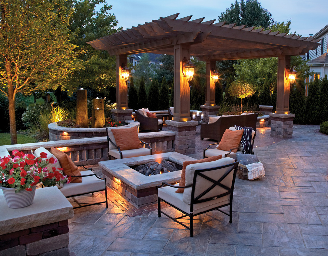 Backyard Fire Pits That Heat Up Your Landscape with size 1083 X 844