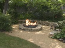 Backyard Landscaping Ideas Attractive Fire Pit Designs Barns for size 2823 X 2048