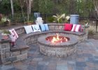 Backyard Patio With Fire Pit Garden Design Traditional Outdoor with regard to measurements 1000 X 800