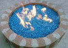 Bahama Blue Crystal Diamond Fire Pit Glass Fire Pit Glass Fire for dimensions 1541 X 1135