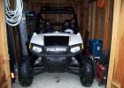 Barely Fits In The Shed Polaris Rzr Photo Gallery intended for measurements 2500 X 1875