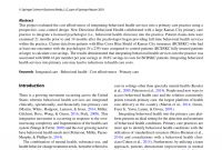 Behavioral Consultation And Primary Care A Guide To Integrating with regard to sizing 850 X 1129