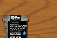 Behr Premium 1 Gal T 500 Natural Clear Transparent Waterproofing inside sizing 1000 X 1000
