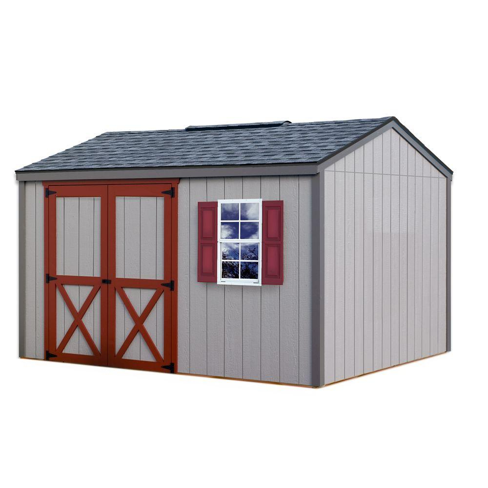 Best Barns Cypress 12 Ft X 10 Ft Wood Storage Shed Kit within sizing 1000 X 1000