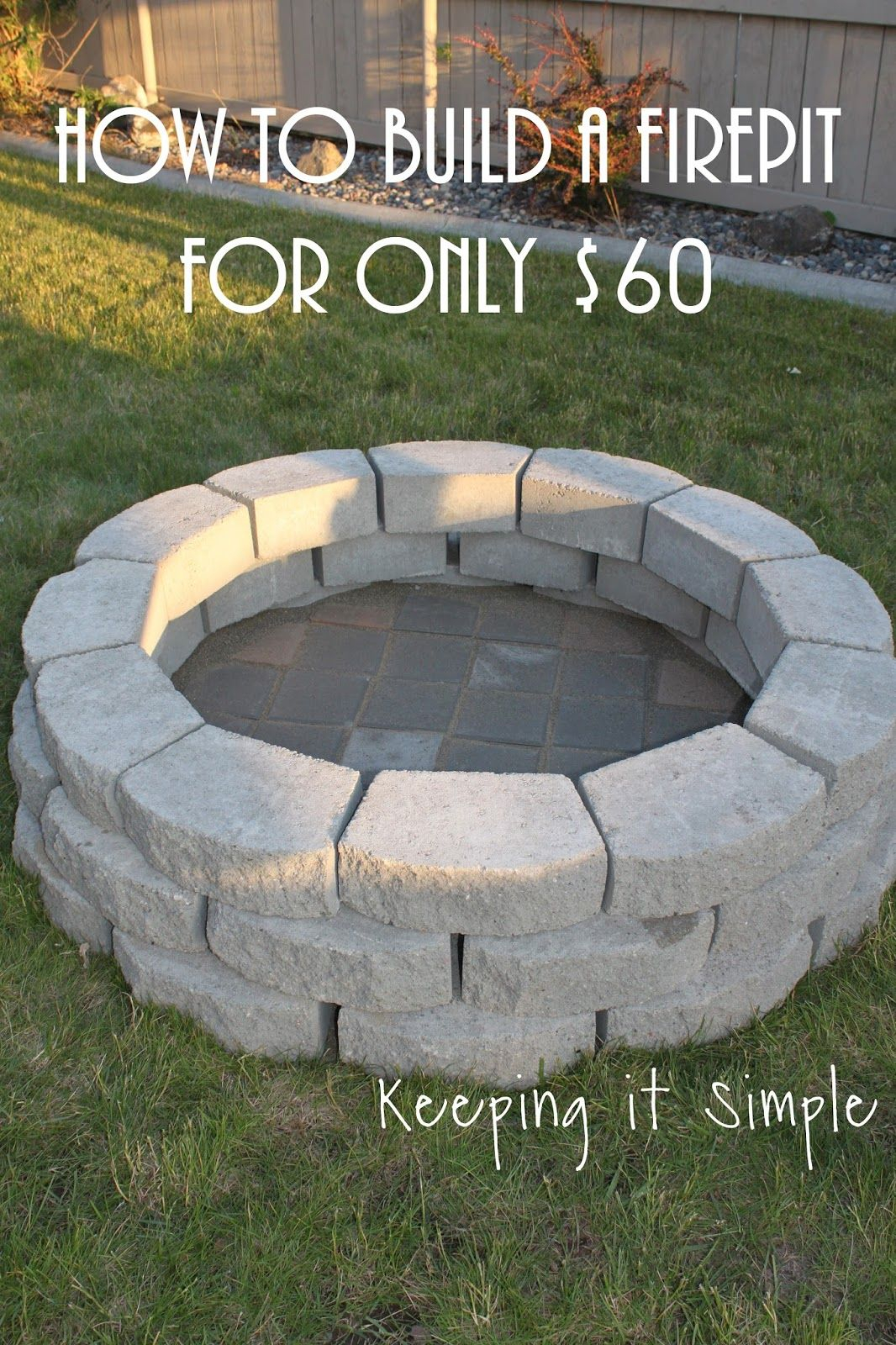 Best Diy Fire Pit Project Ideas Page 16 Of 19 Dream Home regarding sizing 1066 X 1600