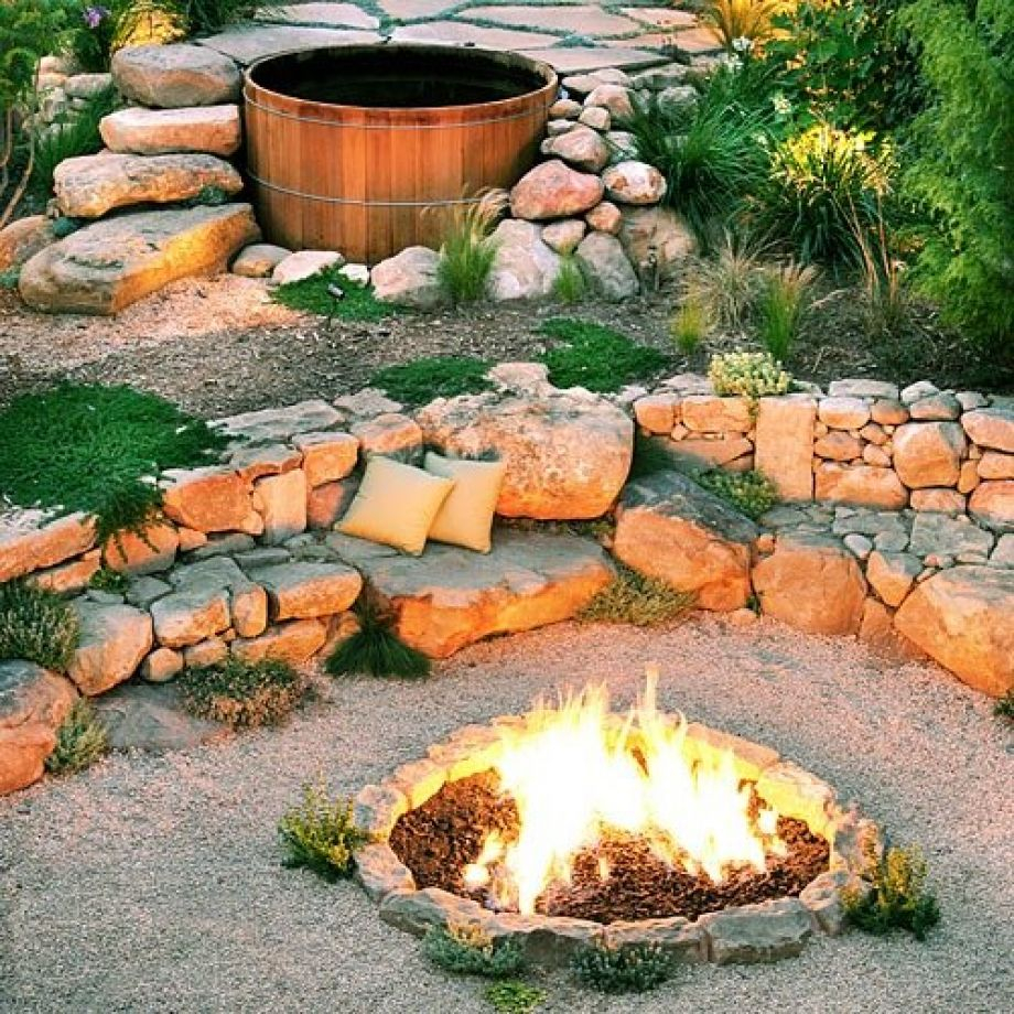 Best Rock For Fire Pit Fireplace Design Ideas with dimensions 920 X 920