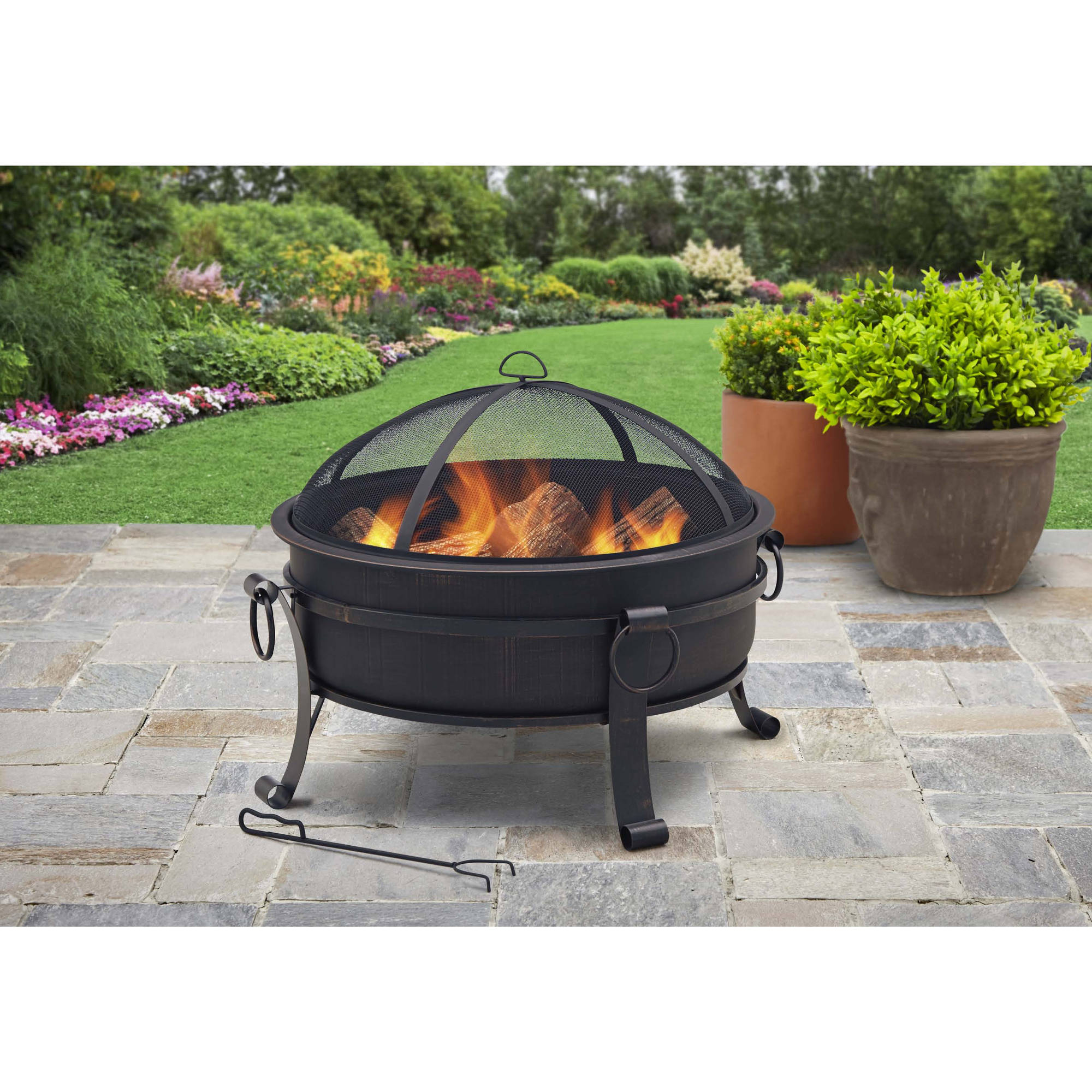 Better Homes And Gardens Cauldron Antique Bronze Walmart pertaining to sizing 2000 X 2000