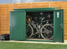 Bike Storage X3 Police Approved High Security Metal Bike Storage with regard to proportions 1300 X 970