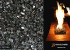 Black Fireglass For Fireplaces March Special Glaz Chips Fire Glass inside measurements 1140 X 700