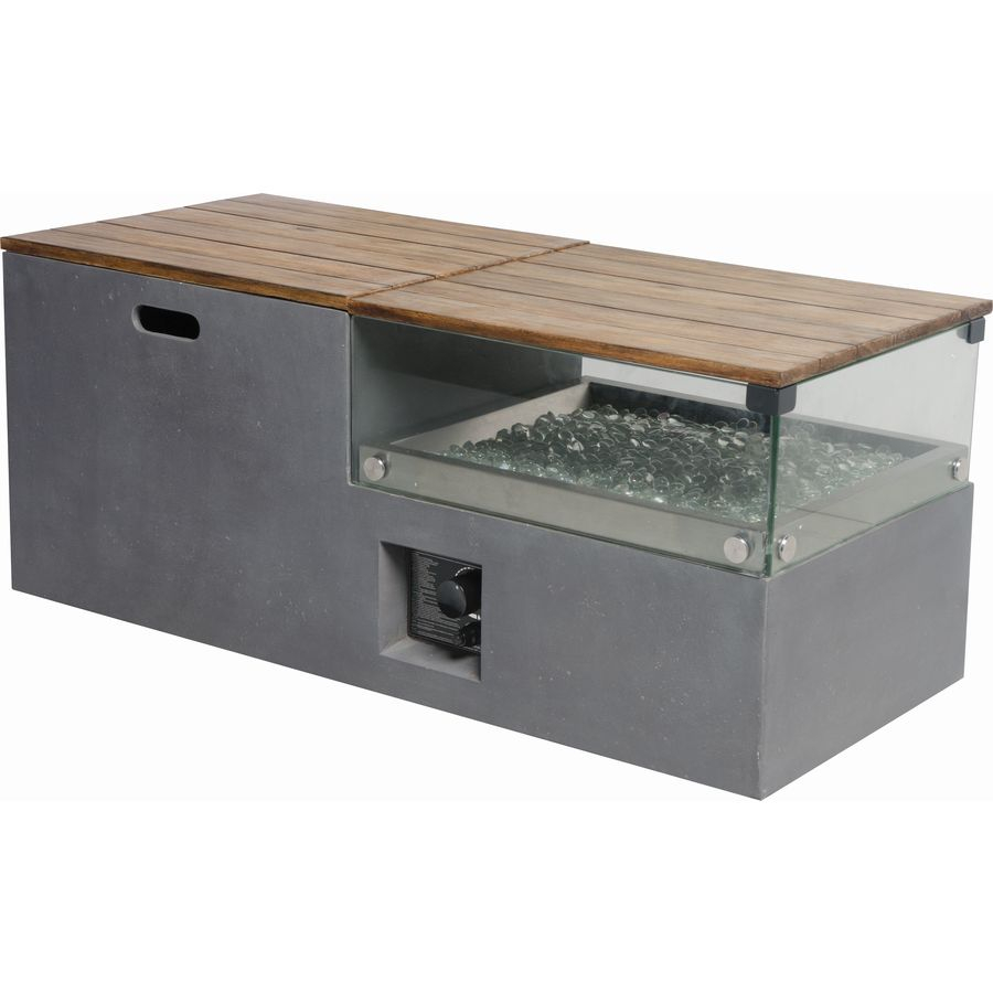 Bond 20 In W 50000 Btu Gray Composite Liquid Propane Fire Table At throughout proportions 900 X 900