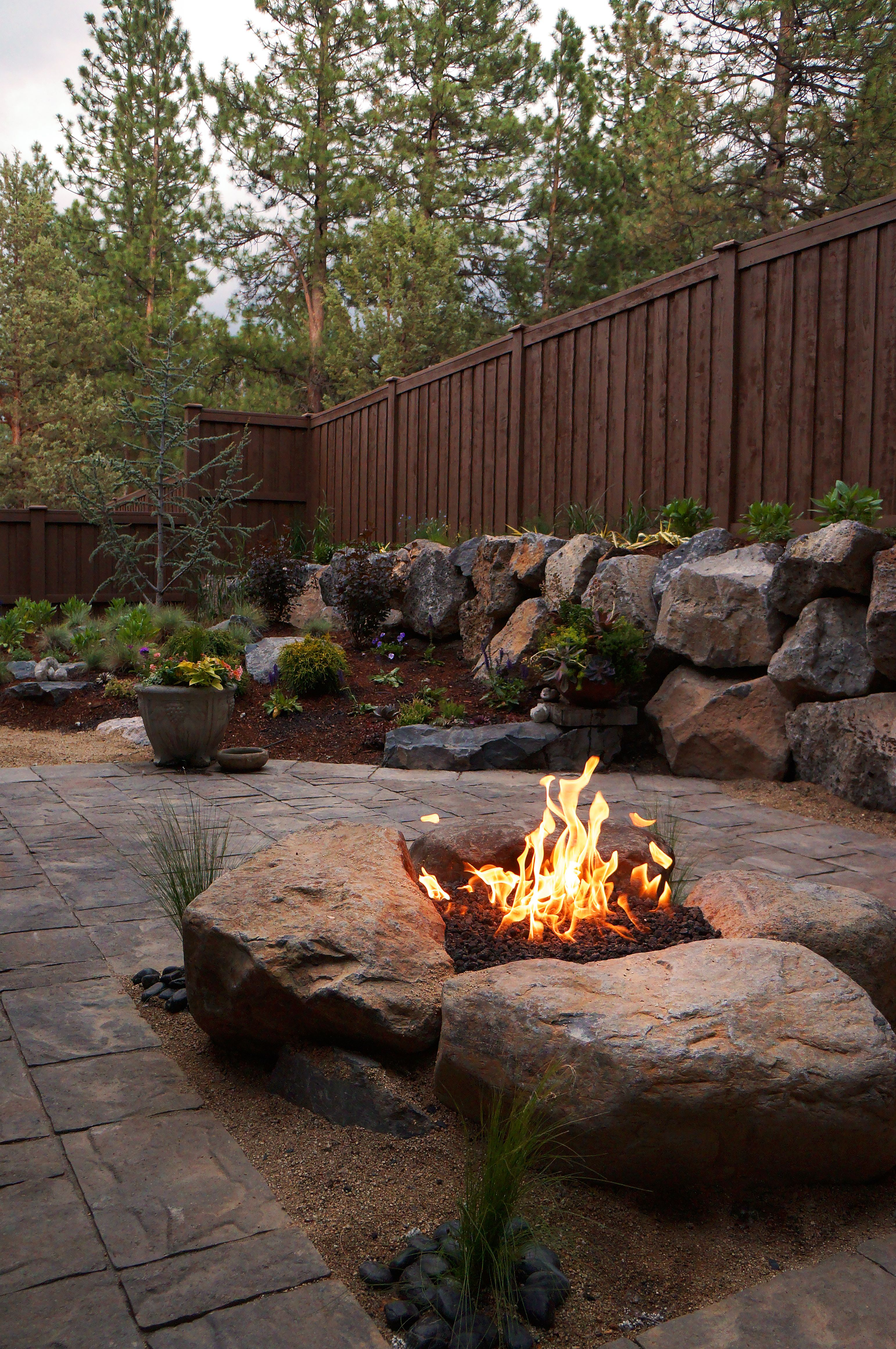 Boulder Fire Pits Google Search Home Outdoor Fire Fire Pit with measurements 3084 X 4641