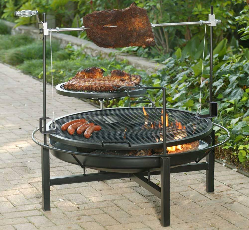 Browning Cowboy Fire Pit Grill Fire Pit Design Ideas within measurements 1000 X 924