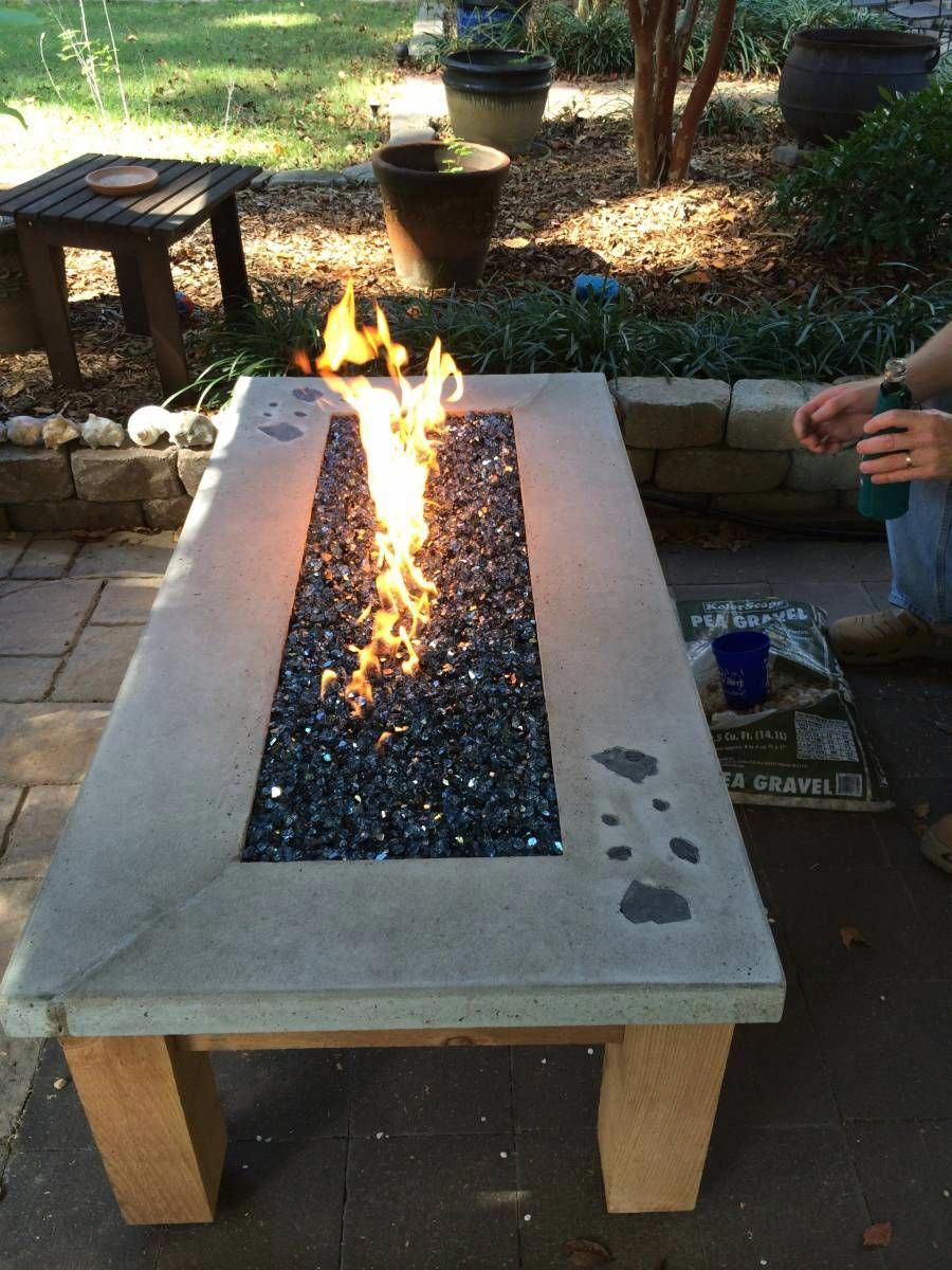 Build Your Own Gas Fire Table Wwweasyfirepits throughout dimensions 900 X 1200