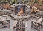 Built In Corner Fire Pit Florida House Fire Pit Backyard throughout dimensions 1157 X 961