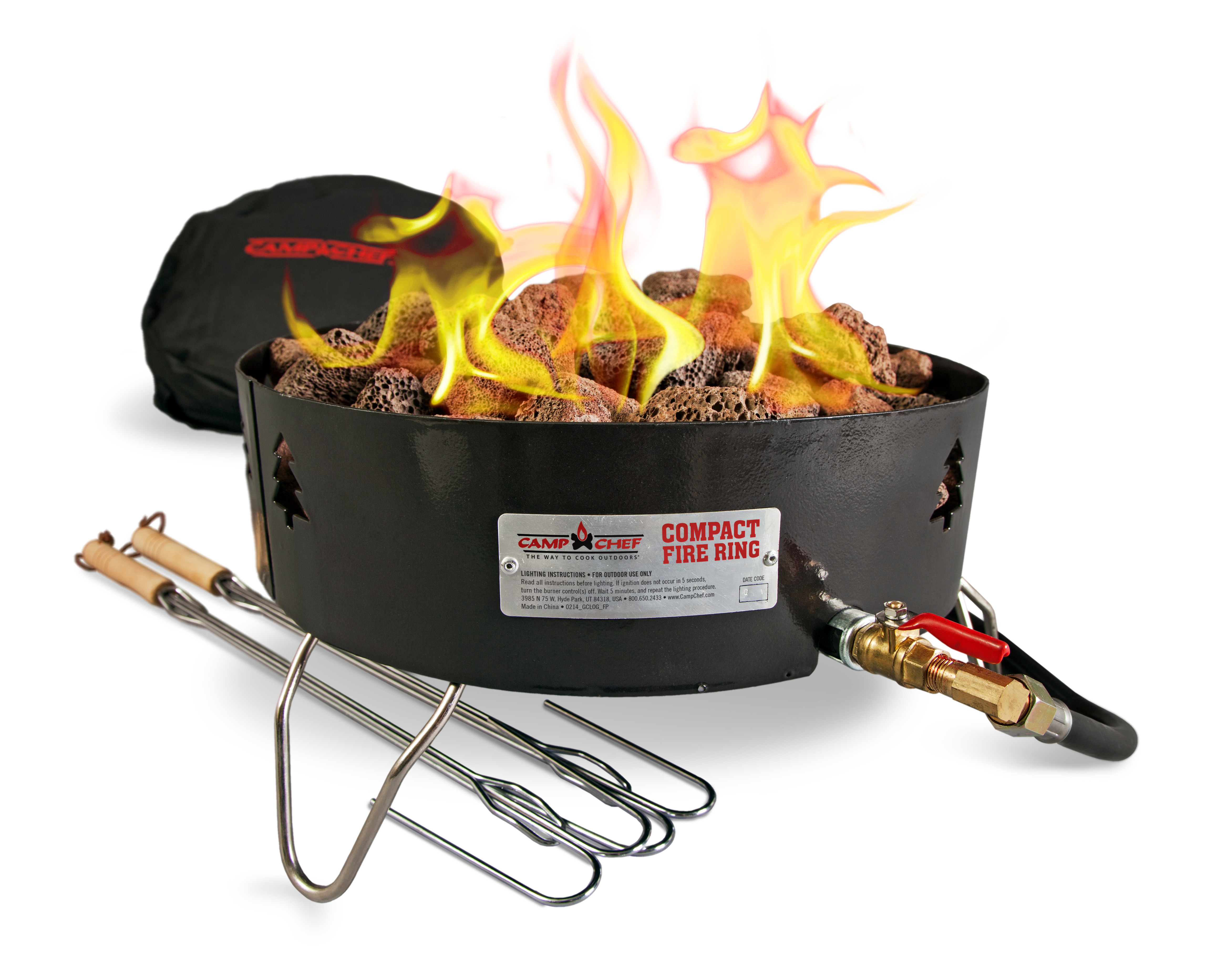 Camp Chef Campfire Pit Portablepropane Gc Log Walmart with proportions 4689 X 3634