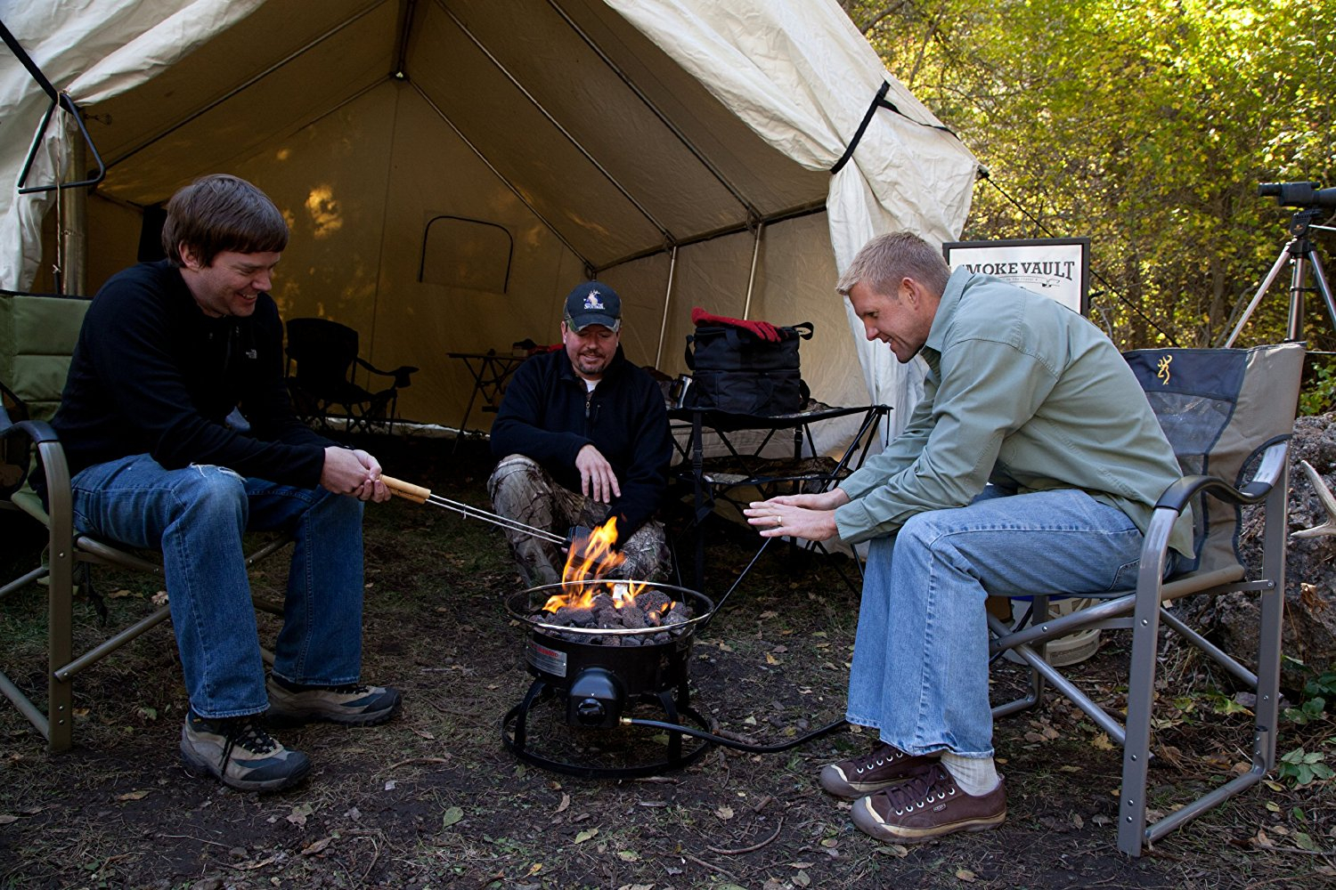 Camp Chef Redwood Fire Pit Review Portable Campfire The Modern with regard to dimensions 1500 X 1000