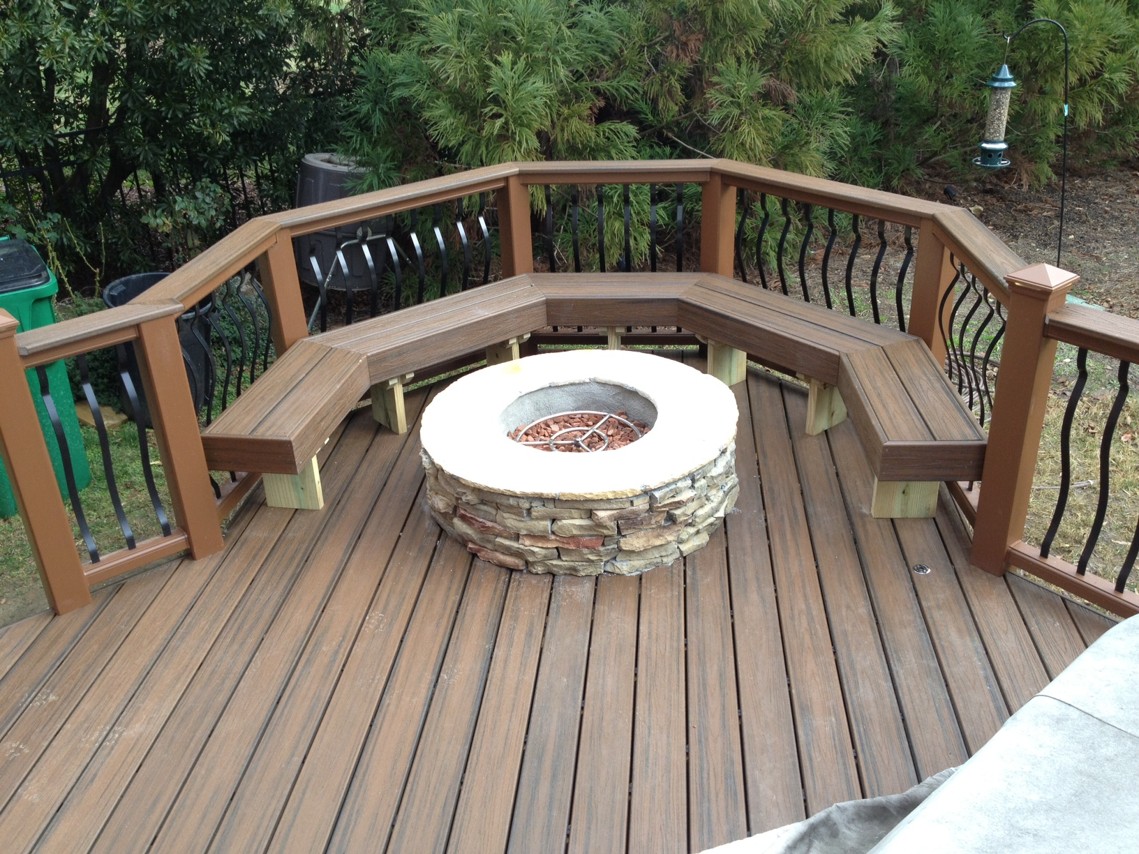 Can You Place A Fire Pit On A Deck Archadeck Of Charlotte in size 1632 X 1224