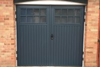 Cardale Bedford Side Hinged Garage Doors In Anthracite Grey throughout sizing 3024 X 4032