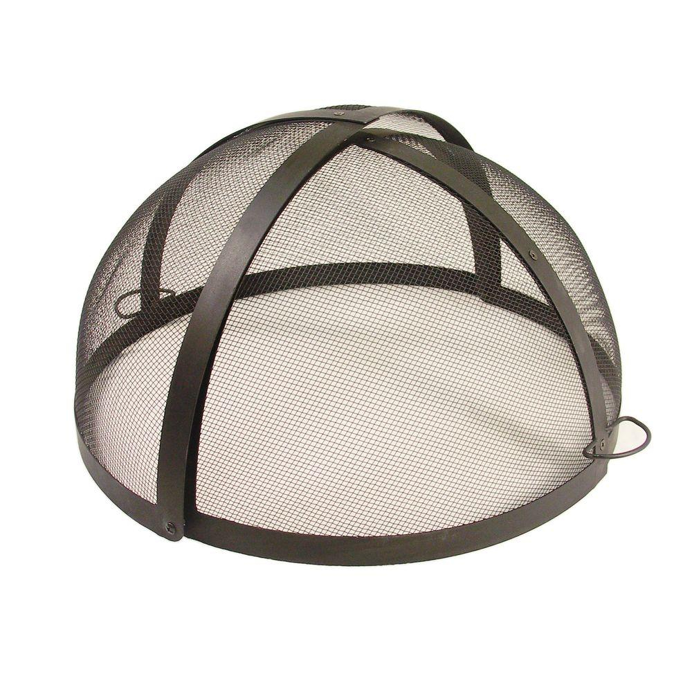 Catalina Creations 24 In Fire Pit Folding Spark Screen Ad112 Ts for dimensions 1000 X 1000