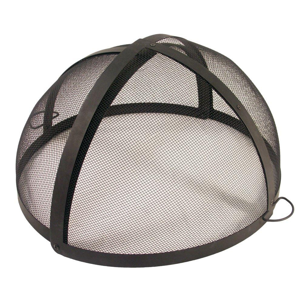 Catalina Creations 40 In Fire Pit Folding Spark Screen Ad6071 The throughout sizing 1000 X 1000